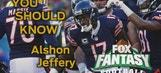 Week 15 Fantasy Football: Alshon Jeffery's playoff impact