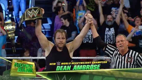 Dean Ambrose becomes WWE World Champion