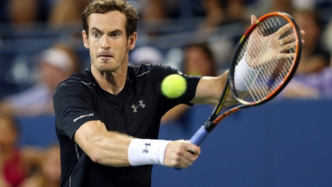T-21. Andy Murray ($15 million)