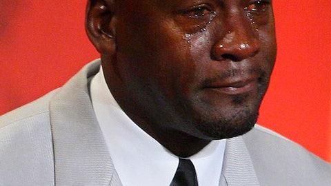 The Clear Eyes Crying Jordan Bowl