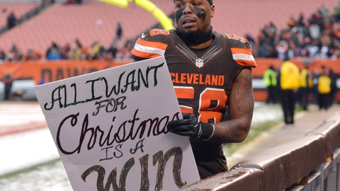 A win for the Cleveland Browns