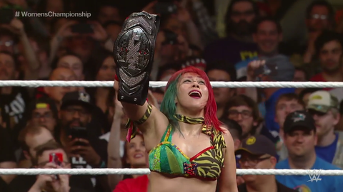 Asuka defeats Bayley to win the NXT Women's Championship