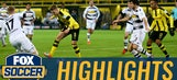 Aubameyang gets brace after great backheel assist from Reus | 2016-17 Bundesliga Highlights