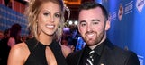 NASCAR drivers and their significant others shine on the red carpet in Vegas