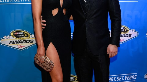 Austin Dillon and fiancè, Whitney