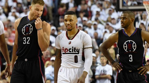 2016: Blazers (5) beat Clippers (4)