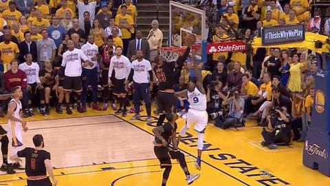 LeBron's block completes Cavs' NBA Finals comeback