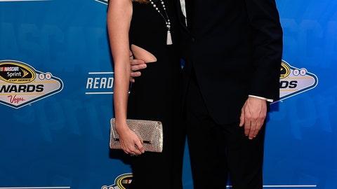Brad Keselowski and girlfriend Paige White