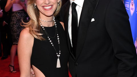 Brad Keselowski and girlfriend Paige White