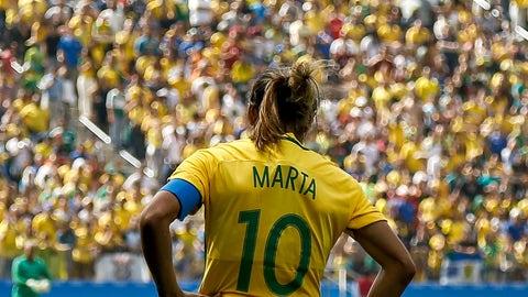 Aug. 6 - Brazil 5, Sweden 1