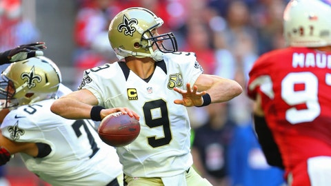 Drew Brees, Saints, QB