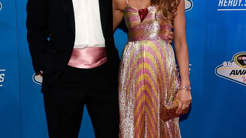 Brian France and wife Amy