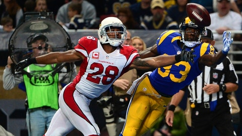 October 22: Arizona Cardinals at Los Angeles Rams (London), 1 p.m. ET