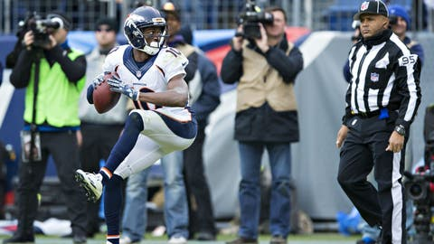 AFC #6 seed: Denver Broncos (8-5)