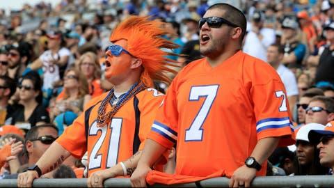 Fan base: Broncos