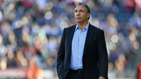 Bruce Arena takes over