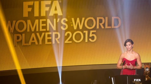 The Best FIFA Women's Player 2016
