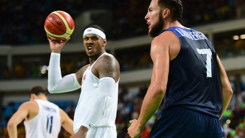 Carmelo Anthony: You Mad?