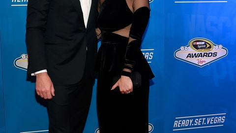 Chad Knaus and wife Brooke Werner
