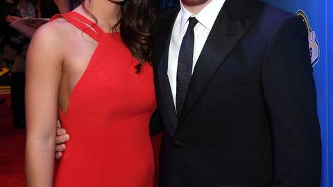 Chris Buescher and girlfriend Emma Helton