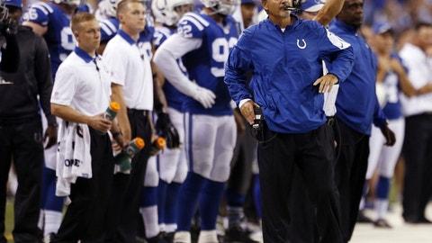 Chuck Pagano, Indianapolis Colts (Last week: 6)