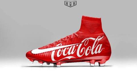 Nike Xmas Mercurial CocaCola