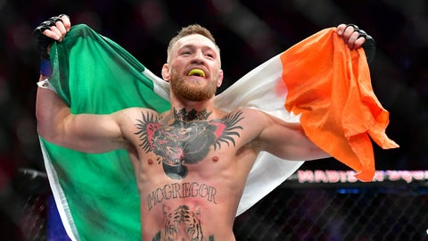 Conor McGregor debuted in the UFC on April 6, 2013