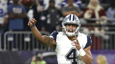 NFC #1 seed: Dallas Cowboys (11-1)