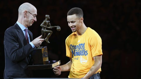 Stephen Curry became the first unanimous MVP in NBA history