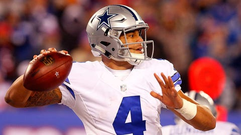 Dak Prescott went from fourth-round draft pick to potential NFL MVP