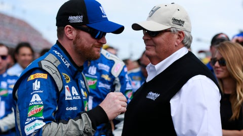 Hendrick had his back