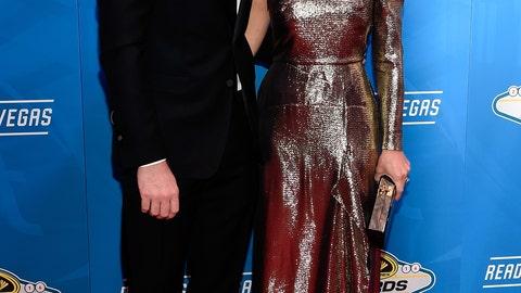 Dale Earnhardt Jr. and fiancé Amy Reimann