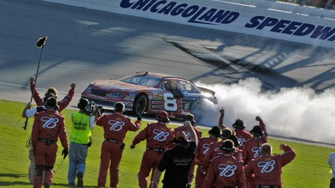 Chicagoland Speedway, July 2005