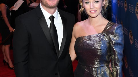 Dale Earnhardt Jr. and fiancée Amy Reimann