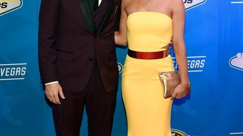 Denny Hamlin and girlfriend Jordan Fish
