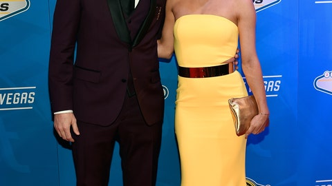 Denny Hamlin and girlfriend Jordan Fish