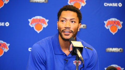 The Bulls moved on from former MVP Derrick Rose by trading him to the Knicks