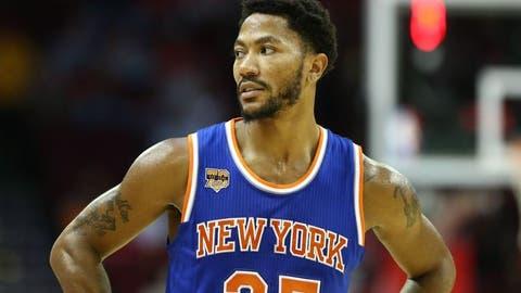 Memphis: Derrick Rose (NBA basketball player)