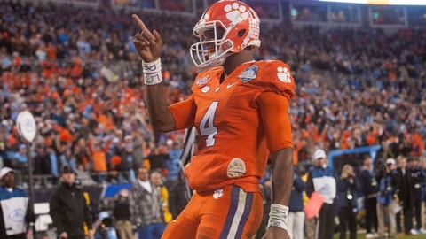 """(The jury's still out) """"Deshaun Watson will lead Clemson to the promised land"""""""