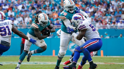Miami Dolphins (7-5): An incomplete offensive line