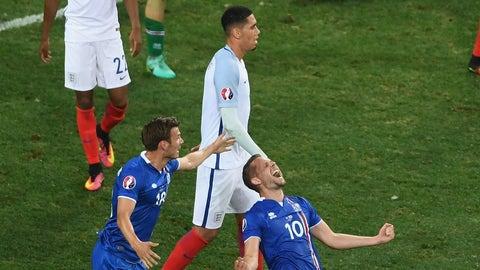 June 27 - England 1, Iceland 2