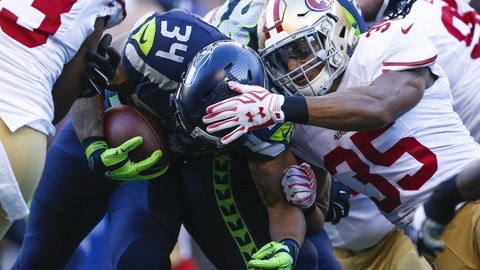 September 17: San Francisco 49ers at Seattle Seahawks, 4:25 p.m. ET
