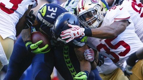 September 17: San Francisco 49ers at Seattle Seahawks, 4:25 p.m. ET