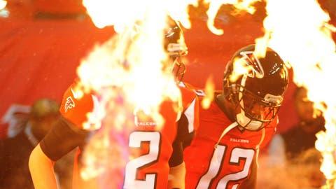 NFC #4 seed: Atlanta Falcons (7-5)