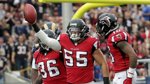 NFC #4 seed: Atlanta Falcons (8-5)