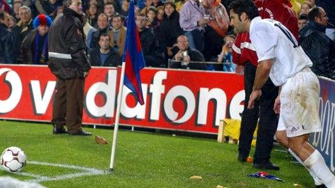 Figo's return to Barcelona