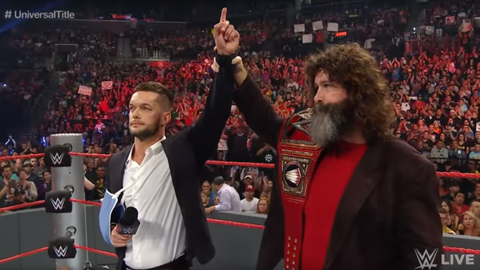 Finn Balor relinquishes his title one day later