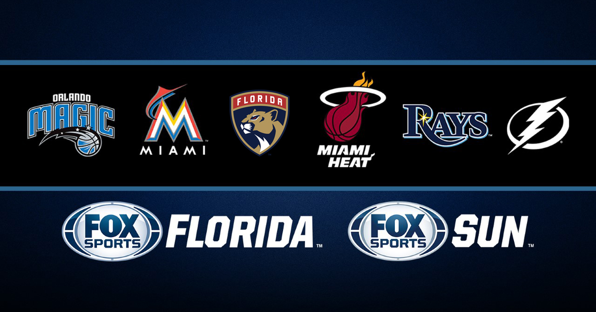 Fox Sports Florida Amp Fox Sports Sun Team Schedules Fox