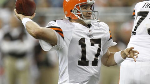 Jake Delhomme - Browns