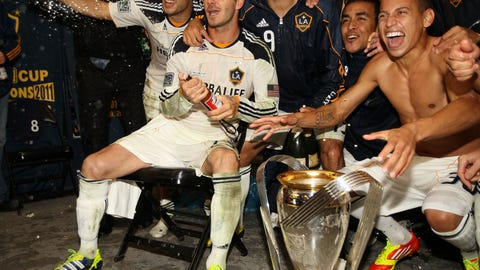 2011: LA Galaxy 1, Houston Dynamo 0